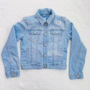 Gap Kids Light Wash Denim Jacket Large